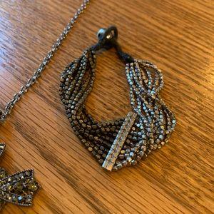 Jewelry - 💥4/$10💥 Cross and Bracelet Set